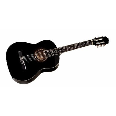 Valencia Classical Guitar CG1K Black- Size 1/2 - Welcome to Orpheus Music