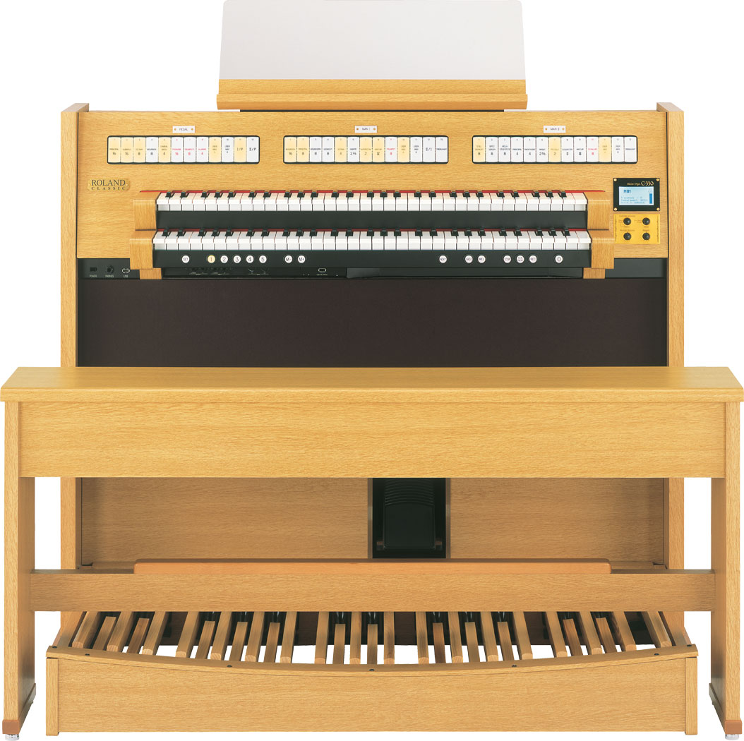 Roland classic c 330 2 manual organ with corresponding for Classic house organ bass